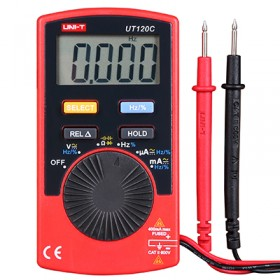 Unit UT 120C Cep Tipi Profesyonel Dijital Multimetre