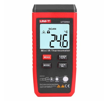 Unit UT 306A Mini infrared Termometre