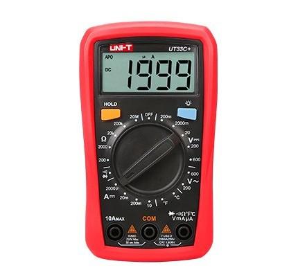 Unit UT 33C+ 600v Dijital Multimetre