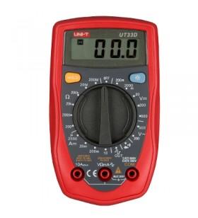 Unit UT 33D Dijital Multimetre ölçü aleti UT33D