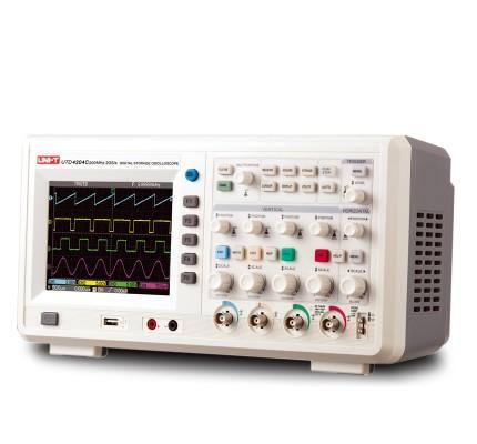 Unit UTD 4204C 4 Kanal 200Mhz Dijital Hafızalı Osiloskop